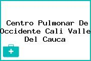 Centro Pulmonar De Occidente Cali Valle Del Cauca
