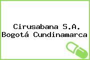 Cirusabana S.A. Bogotá Cundinamarca