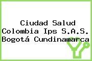 Ciudad Salud Colombia Ips S.A.S. Bogotá Cundinamarca