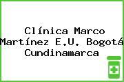 Clínica Marco Martínez E.U. Bogotá Cundinamarca