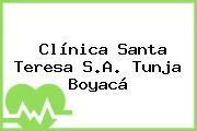 Clínica Santa Teresa S.A. Tunja Boyacá