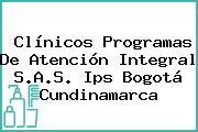 Clínicos Programas De Atención Integral S.A.S. Ips Bogotá Cundinamarca