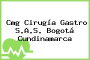 Cmg Cirugía Gastro S.A.S. Bogotá Cundinamarca