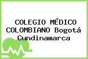COLEGIO MÉDICO COLOMBIANO Bogotá Cundinamarca