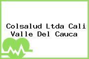 Colsalud Ltda Cali Valle Del Cauca
