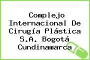 Complejo Internacional De Cirugía Plástica S.A. Bogotá Cundinamarca