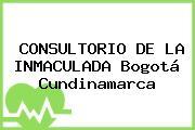 CONSULTORIO DE LA INMACULADA Bogotá Cundinamarca