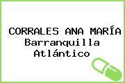 CORRALES ANA MARÍA Barranquilla Atlántico