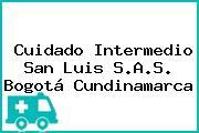 Cuidado Intermedio San Luis S.A.S. Bogotá Cundinamarca