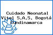 Cuidado Neonatal Vital S.A.S. Bogotá Cundinamarca