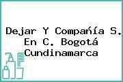 Dejar Y Compañía S. En C. Bogotá Cundinamarca