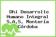 Dhi Desarrollo Humano Integral S.A.S. Montería Córdoba