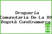 Droguería Comunutaria De La 80 Bogotá Cundinamarca