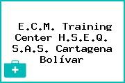 E.C.M. Training Center H.S.E.Q. S.A.S. Cartagena Bolívar