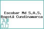 Escobar Md S.A.S. Bogotá Cundinamarca