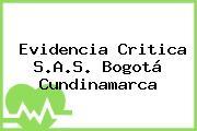 Evidencia Critica S.A.S. Bogotá Cundinamarca