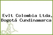 Evlt Colombia Ltda. Bogotá Cundinamarca