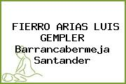 FIERRO ARIAS LUIS GEMPLER Barrancabermeja Santander