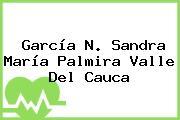 García N. Sandra María Palmira Valle Del Cauca