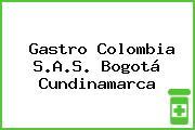 Gastro Colombia S.A.S. Bogotá Cundinamarca