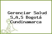 Gerenciar Salud S.A.S Bogotá Cundinamarca
