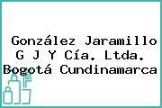 González Jaramillo G J Y Cía. Ltda. Bogotá Cundinamarca
