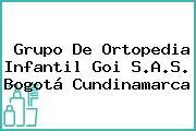 Grupo De Ortopedia Infantil Goi S.A.S. Bogotá Cundinamarca