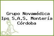Grupo Novamédica Ips S.A.S. Montería Córdoba