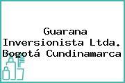 Guarana Inversionista Ltda. Bogotá Cundinamarca