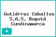 Gutiérrez Ceballos S.A.S. Bogotá Cundinamarca