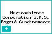 Haztrambiente Corporation S.A.S. Bogotá Cundinamarca