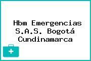 Hbm Emergencias S.A.S. Bogotá Cundinamarca