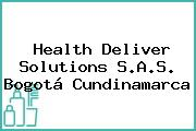 Health Deliver Solutions S.A.S. Bogotá Cundinamarca
