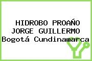 HIDROBO PROAÑO JORGE GUILLERMO Bogotá Cundinamarca