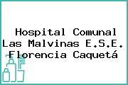 Hospital Comunal Las Malvinas E.S.E. Florencia Caquetá