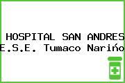 HOSPITAL SAN ANDRES E.S.E. Tumaco Nariño