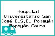 Hospital Universitario San José E.S.E. Popayán Popayán Cauca