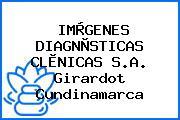 IMÀGENES DIAGNÒSTICAS CLÌNICAS S.A. Girardot Cundinamarca