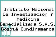 Instituto Nacional De Investigacion Y Medicina Especializada S.A.S. Bogotá Cundinamarca
