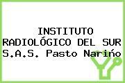 INSTITUTO RADIOLÓGICO DEL SUR S.A.S. Pasto Nariño