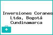 Inversiones Coranes Ltda. Bogotá Cundinamarca