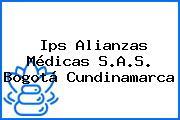 Ips Alianzas Médicas S.A.S. Bogotá Cundinamarca