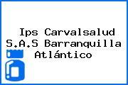 Ips Carvalsalud S.A.S Barranquilla Atlántico