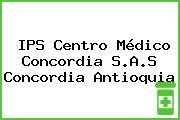 IPS Centro Médico Concordia S.A.S Concordia Antioquia