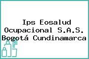 Ips Eosalud Ocupacional S.A.S. Bogotá Cundinamarca