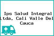 Ips Salud Integral Ltda. Cali Valle Del Cauca