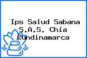 Ips Salud Sabana S.A.S. Chía Cundinamarca