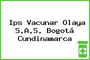 Ips Vacunar Olaya S.A.S. Bogotá Cundinamarca