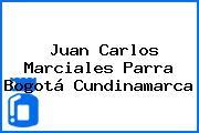 Juan Carlos Marciales Parra Bogotá Cundinamarca