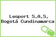 Lesport S.A.S. Bogotá Cundinamarca